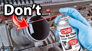 Never Do This When Cleaning Your <b>Mass Air Flow</b> Sensor - YouTube