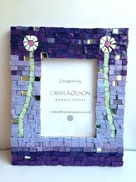 mosaic picture frames frame mosaic hand painted mirror frames purple turquoise inspirational best mosaic frames images mosaic picture frames