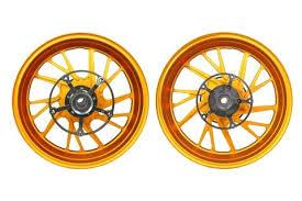 MOS Forged Aluminium Alloy Rim Wheels <b>for Yamaha TMAX</b> 530 ...