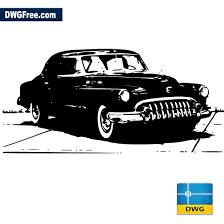 Car Design In Autocad 2d Old Car Dwg Autocad Blocks Free Download Dwg 2d Model