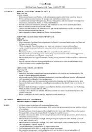 Cloud Computing Cv Cloud Solutions Architect Resume Samples Velvet Jobs