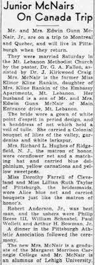 Edwin McNair Jr Wedding Article - Newspapers.com