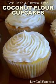 Coconut Flour Cupcakes Recipe Low Carb And Gluten Free Low Carb Yum