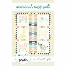 Savannah Cozy Quilt Pattern – Gingiber & Savannah Cozy Quilt Pattern Adamdwight.com