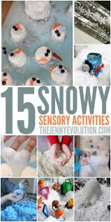 15 Winter Sensory Snow Activities - Perfect for Toddlers and Preschool!