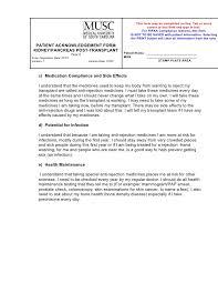Musc Doctors Note Educational Materials