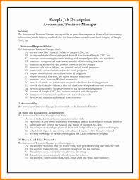 Sample Resume For Cfo Position Elegant Chief Accountant Cv Finance