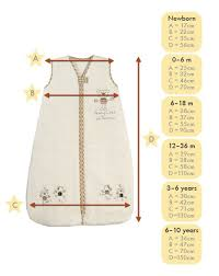 Grobag Sleeping Bag Size Chart Saco Dormir Bebe Medidas Baby Sewing Baby Knitting