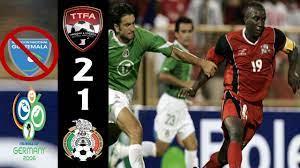 Trinidad y Tobago [2] vs. Mexico [1 ...