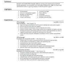 Office Manager Resume Examples – Armni.co