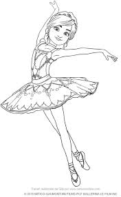 Ballerina Coloring Pages For Adults Free Coloring Sheets