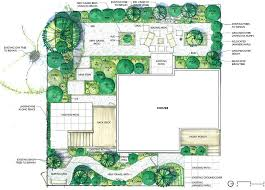landscape architecture blueprints. Contemporary Architecture Landscape Gardening Planning Design Drawings  With Landscape Architecture Blueprints