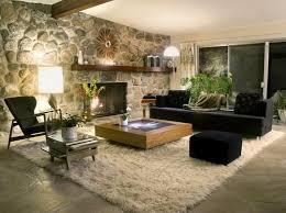 15 Living Room Designs With Natural Stone Walls  RilaneNature Room Design