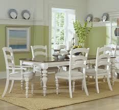 Hillsdale Dining Table Pine Island Wood Dining Table In Old White By Hillsdale Furniture