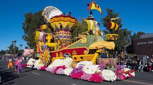 Al Brooks Rose Bowl Tours Leading The Parade