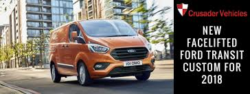 2018 ford transit custom. modren ford ford have announce new facelifted transit custom for 2018  crusader  vans and ford transit custom