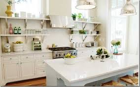 Open Shelving In Kitchen Captivating Spring Kitchen Decor Ideas With Open Shelving And