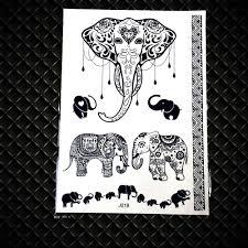 25 стиль дельфин Henna он книги по искусству милые временные татуировки черный хна