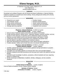 General Practitioner Sample Resume General Physician Resume Sample Dadajius 1
