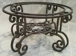 wrought iron coffee table legs uk tables ideas astounding base for round sample stainless steel shadow wrought iron side table