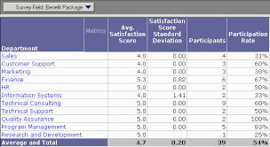 Satisfaction Survey Report Employee Satisfaction Survey Results