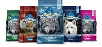 Blue Buffalo Wilderness Chicken Recipe Grain Free Dry Dog Food 4 5 Lb Bag