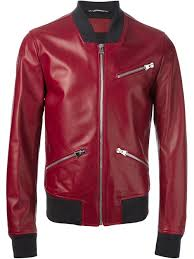 dolce gabbana er jacket in red for men lyst