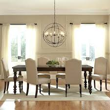 dining table chandelier height large size of kitchen over chandeliers design awesome lights standard above