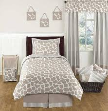 woodland twin bedding giraffe comforter set 3 piece full queen size by sweet designs woodland creatures