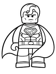 Lego Superheld Kleurplaten Gratis Gratis Superman Met Gratis En Van