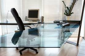 contemporary glass office. Contemporary Glass Office Desk Bear Creates Modern Desktops Blog M