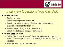 Questions To Ask At Job Shadow Bbi Presentation 011711