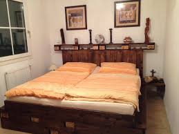 Pallet Bedroom Furniture Palettenbett Pallet Bed O Pallet Ideas O 1001 Pallets