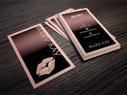 Cute Business Card Ideas Cute Business Card Template Designs For Mary Kay Cosmetic