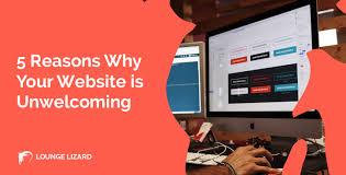 Lounge Lizard Web Design 5 Reasons Why Your Website Is Unwelcoming Lounge Lizard