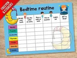 Bedtime Reward Chart Details About Bedtime Nightime Routine Reward Chart Kids Childrens Sticker Star Behaviour