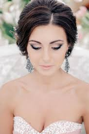 smoky bridal makeup for brunettes one1lady makeup eyes