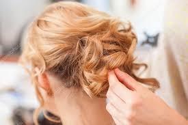 Svatební účes Dlouhé Blond Vlasy Stock Fotografie Vpardi 88253874