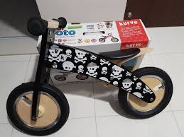 kiddimoto british wooden balance bike new with warranty retail 199 bicycles pmds bicycles others on carou
