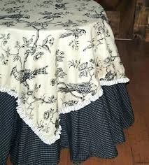 french country tablecloth laundry blackbird tabletop tablecloths red 70 inch round bl french country tablecloth