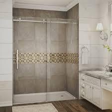 frameless single shower doors. Moselle 60\ Frameless Single Shower Doors