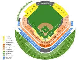 Seating Map Tropicana Field Tropicana Field Seating Chart