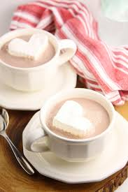hot chocolate with marshmallows and whipped cream. Brilliant Marshmallows Whipped Cream Hearts With Hot Chocolate Marshmallows And