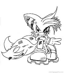 Small Picture Free Printable Sonic The Hedgehog Coloring Pages Aquadisocom