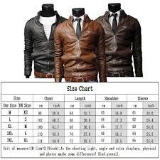 Leather Jacket Size Chart Leather Jacket Size Chart