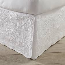 Quilted Bed Skirt | bedroom extras | Pinterest | Quilt bedding ... & Quilted Bed Skirt Adamdwight.com