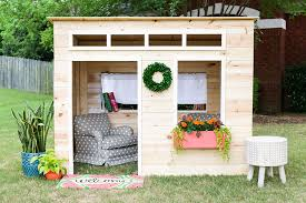enjoy your time while making wooden playhouse to your kids explore trending
