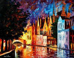 leonid afremov oil on canvas palette knife original paintings art famous artist biography official page gallery large artwork