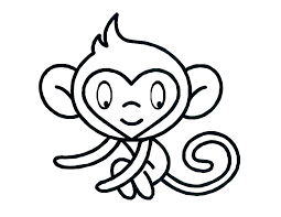 Sock Monkey Coloring Pages Free Printable Monkey Coloring Pages Free