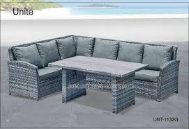 china rattan wicker outdoor sectional sofa set contemporary garden furniture supplier